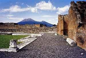 Mount Vesuvius: Stratovolcano in the Gulf of Naples, Italy