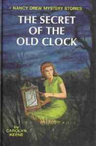 Nancy Drew: Fictional character in a juvenile mystery series created by the Stratemeyer Syndicate publisher under the collective pseudonym Carolyn Keene