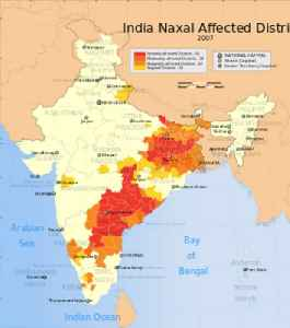 Naxalite: Indian left wing political party members