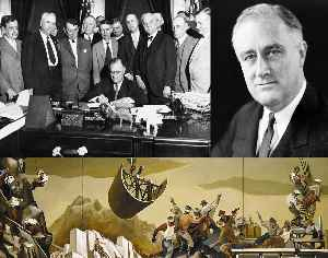 New Deal: Economic programs of U.S. President Franklin D. Roosevelt