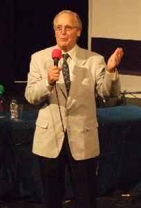 Nicholas Parsons: British actor and presenter
