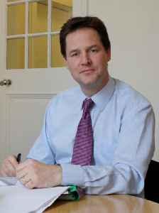Nick Clegg: British politician