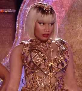 Nicki Minaj: American rapper and singer