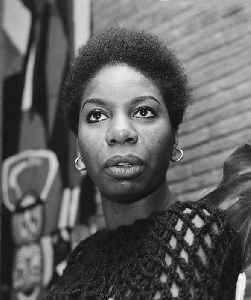 Nina Simone: American singer, songwriter, pianist, arranger, and civil rights activist