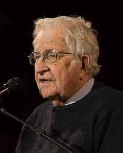 Noam Chomsky: American linguist, philosopher and activist