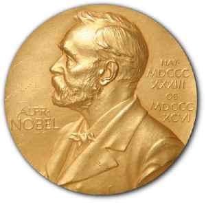 Nobel Prize: Set of annual international awards, primarily 5 established in 1895 by Alfred Nobel