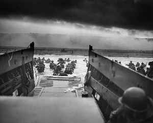 Normandy landings: First day of the Allied invasion of France in Nazi-occupied Europe during World War II