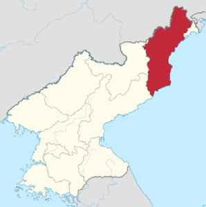 North Hamgyong Province: Province in Kwanbuk, North Korea