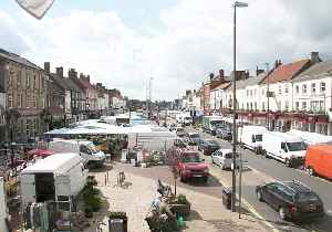 Northallerton: Town in the Hambleton district of North Yorkshire, England