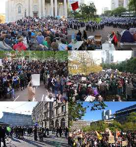 Occupy movement: International branch of the Occupy Wall Street movement that protests against social and economic inequality around the world