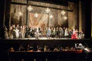 Opera: Artform combining sung text and musical score in a theatrical setting