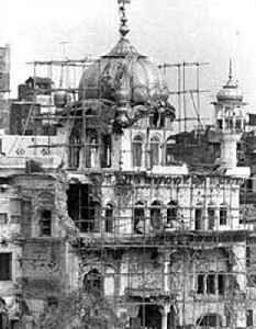 Operation Blue Star: Indian military operation
