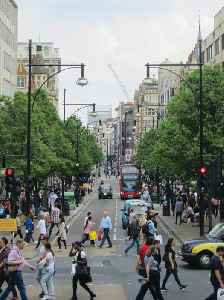 Oxford Street: Major road in the City of Westminster in London