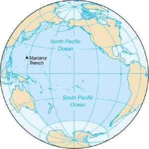 Pacific Ocean: Ocean between Asia and Australia in the west, the Americas in the east and Antarctica or the Southern Ocean in the south