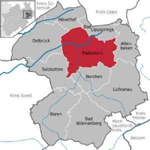 Paderborn: Place in North Rhine-Westphalia, Germany