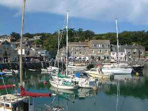 Padstow: Town, civil parish and fishing port on the north coast of Cornwall, England