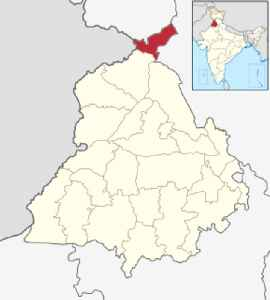Pathankot district: District of Punjab in India