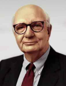 Paul Volcker: Former Chairman of the Federal Reserve (USA)