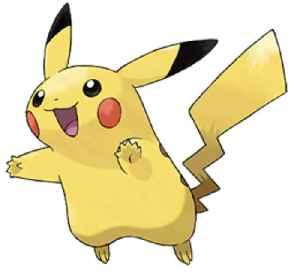 Pikachu: Pokémon species and the mascot of the Pokémon franchise