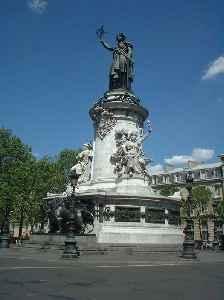 Place de la République: Square in Paris, France