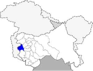 Poonch district, India: District of Jammu and Kashmir in India