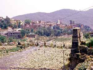 Poonch (town): Town in Jammu and Kashmir, India