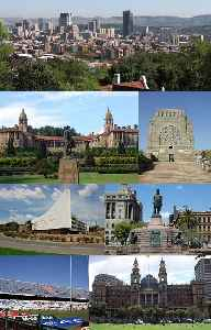 Pretoria: National administrative capital of South Africa, located in Gauteng province