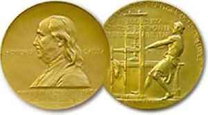 Pulitzer Prize: U.S. award for achievements in newspaper and online journalism, literature, and musical composition