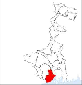 Purba Medinipur district: District of West Bengal in India