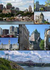 Quebec City: Provincial capital city in Quebec, Canada