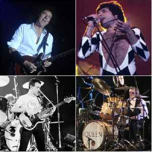 Queen (band): British rock band formed in 1970