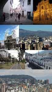 Quito: Capital city in Pichincha, Ecuador