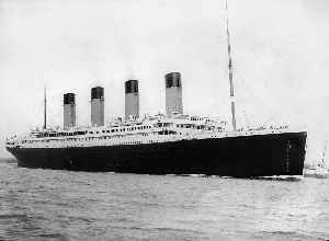 RMS Titanic: British transatlantic passenger liner, launched and foundered in 1912