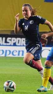 Rachel Corsie: Scottish footballer