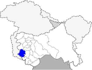 Rajouri district: District of Jammu and Kashmir in India