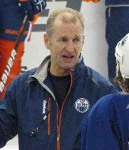 Ralph Krueger: Canadian ice hockey player