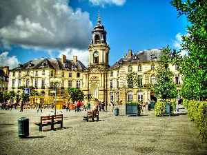 Rennes: Prefecture and commune in Brittany, France