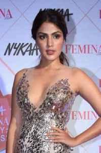 Rhea Chakraborty: Indian actress and model