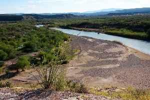 Rio Grande: River forming part of the US-Mexico border