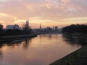 River Irwell: River in Lancashire, United Kingdom
