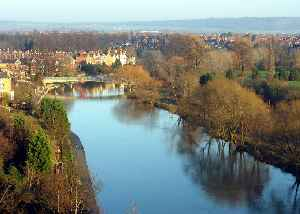 River Severn: River in the United Kingdom
