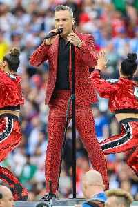 Robbie Williams: British singer and entertainer