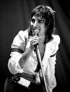 Rod Stewart: British singer and songwriter