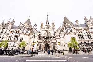 Royal Courts of Justice: Court building in London, England