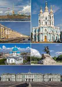 Saint Petersburg: Federal city in Northwestern, Russia