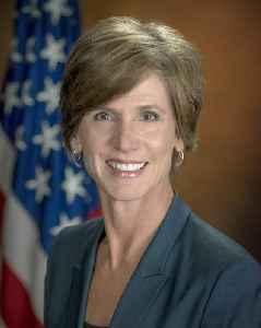 Sally Yates: American lawyer and former prosecutor
