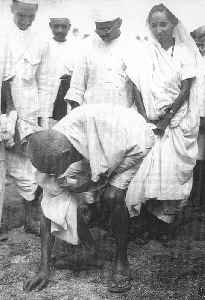Salt March: Indian independence movement event led by Mahatma Gandhi