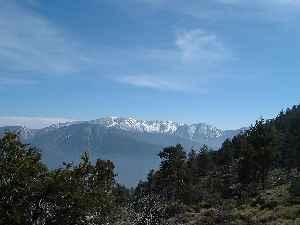 San Bernardino Mountains: Mountain range in Southern California