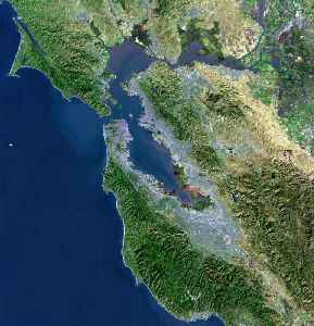 San Francisco Bay: Bay on the California coast of the United States