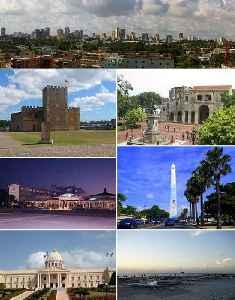Santo Domingo: Capital city in National District, Dominican Republic